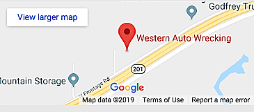 Western Auto Wrecking West Valley UT Location