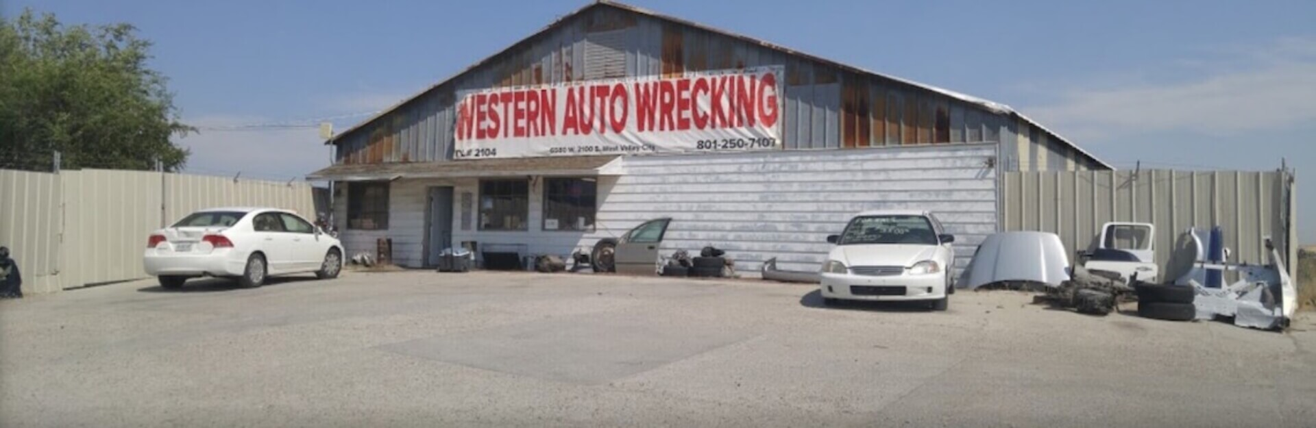 Western Auto Wrecking Used Car Parts Utah